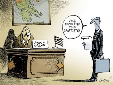 Grèce: ultime effort budgétaire pour 2018.  Un article de Catherine Chatignoux (Les Echos)